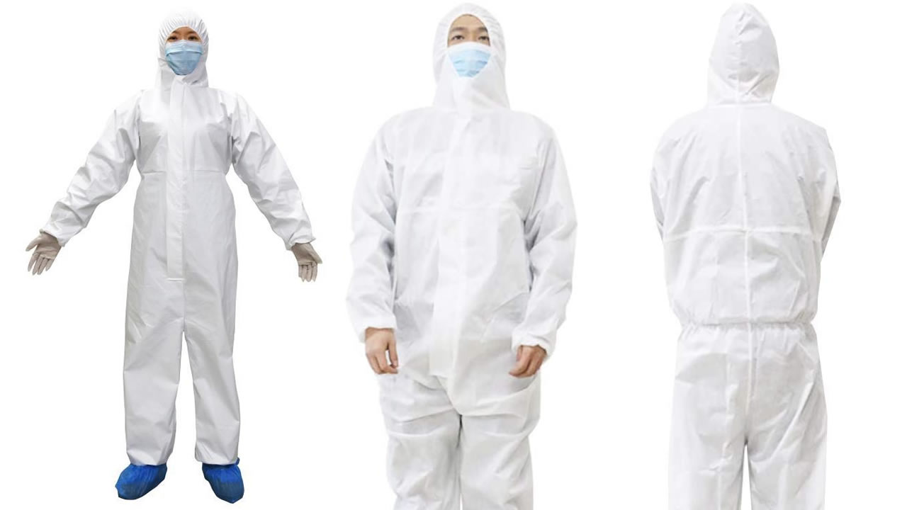 Disposable-medical-isolation-clothing