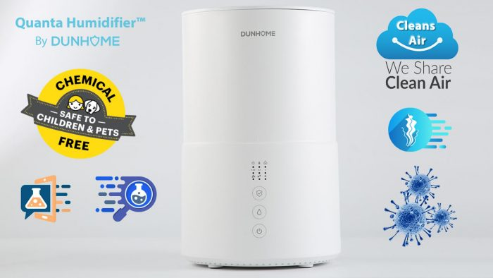 dunhome-quanta-humidifier-Chemical-Free-Antimicrobial-Air-Humidification-sterilization-humidifier
